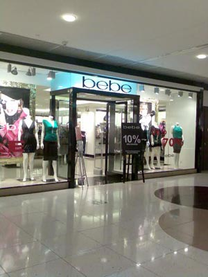 Cheap online clothing stores Bebe clothing store